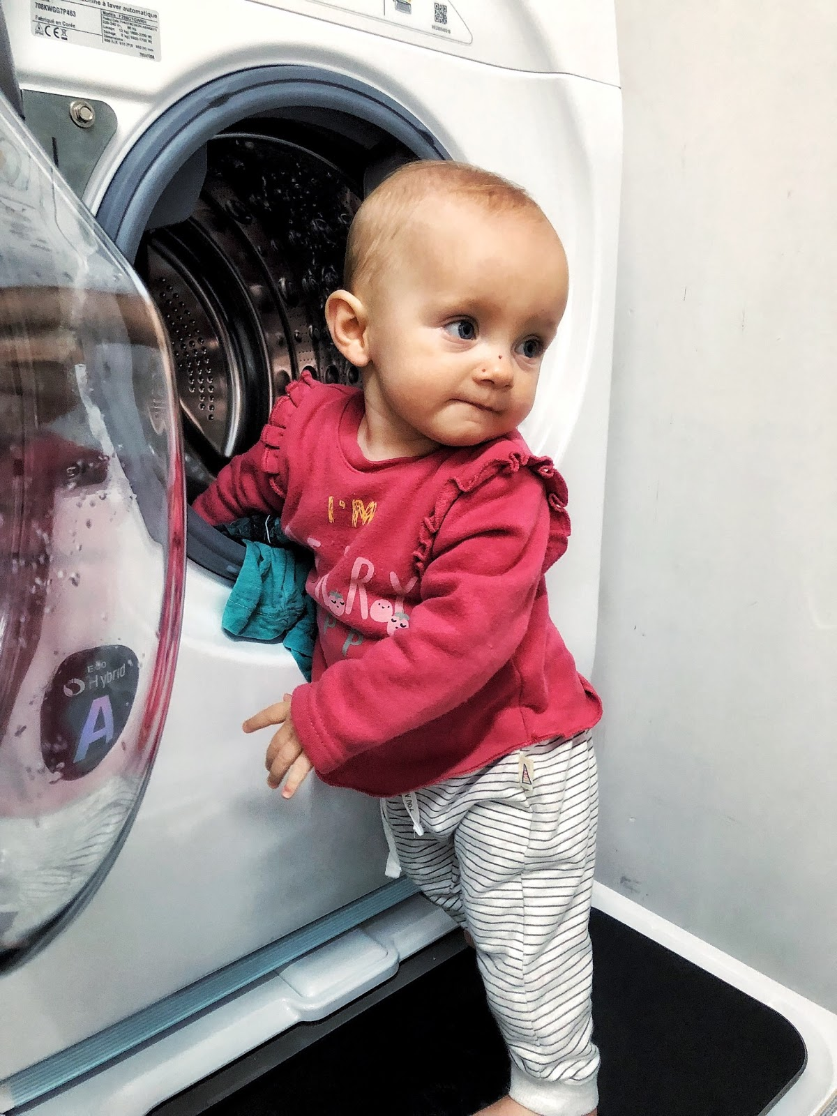 Je teste la machine à laver LG