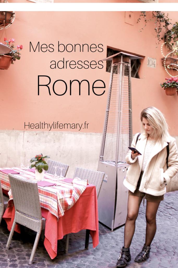 bonnes adresses rome blog