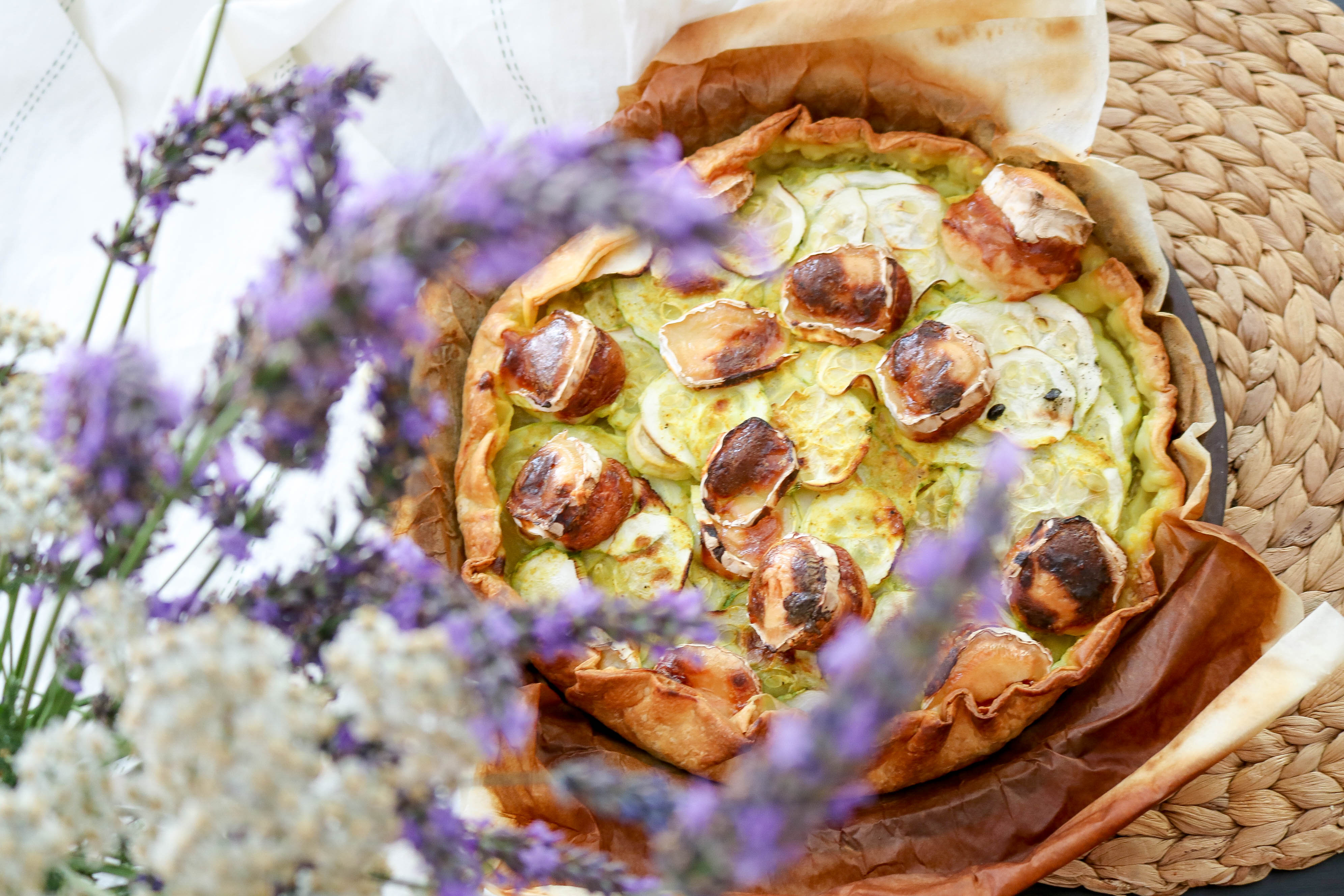 tarte courgette curry healthylifemary