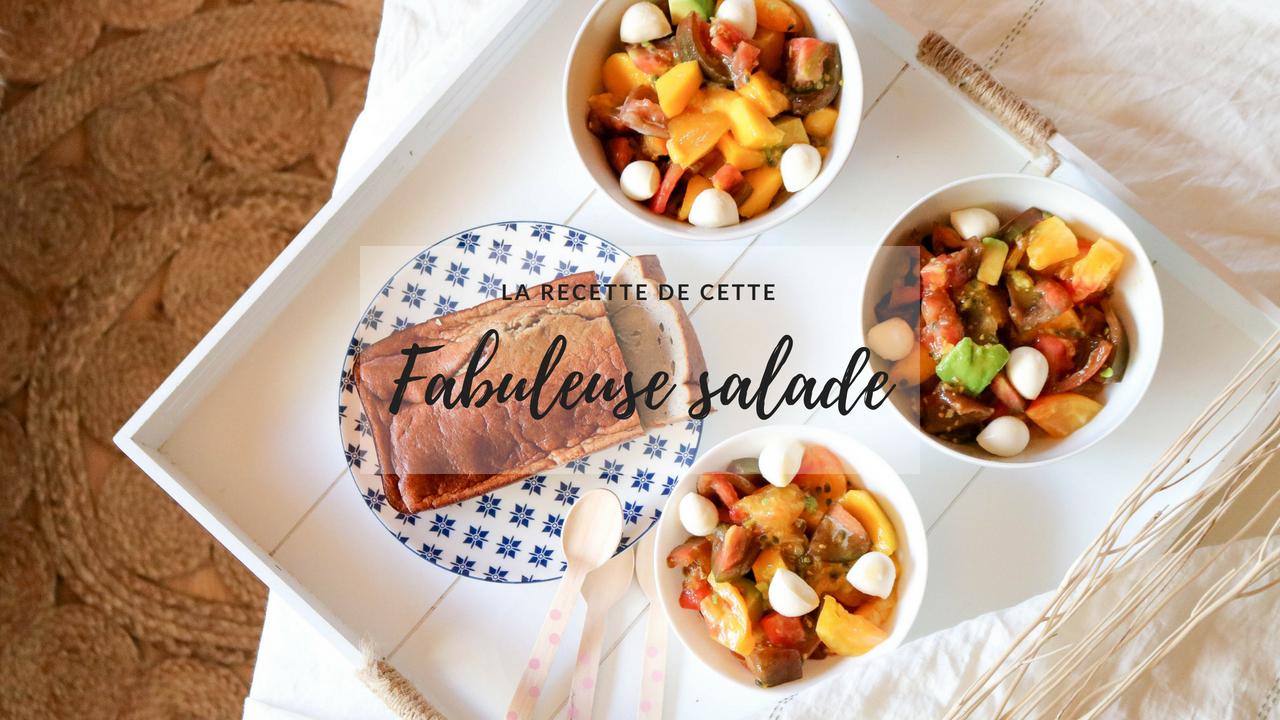 LA recette de salade exotique à tester cet été