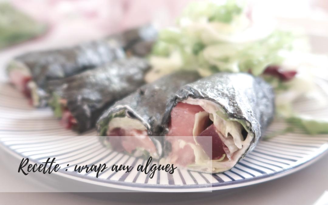 Rouleaux type wrap mais aux algues