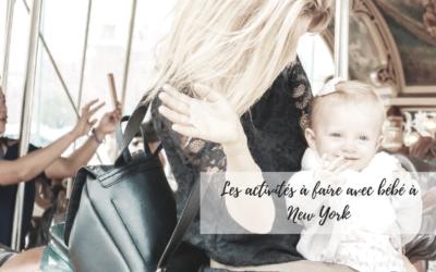 Activités à faire avec bébé à New York