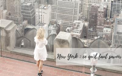 New York ce qu'il faut savoir