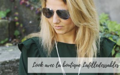 Look avec la boutique Lafilledessables