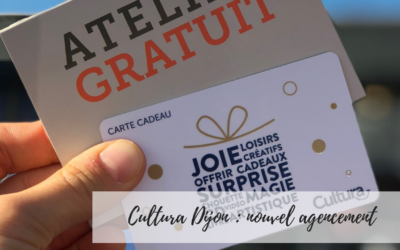 Cultura Dijon – Nouvel agencement