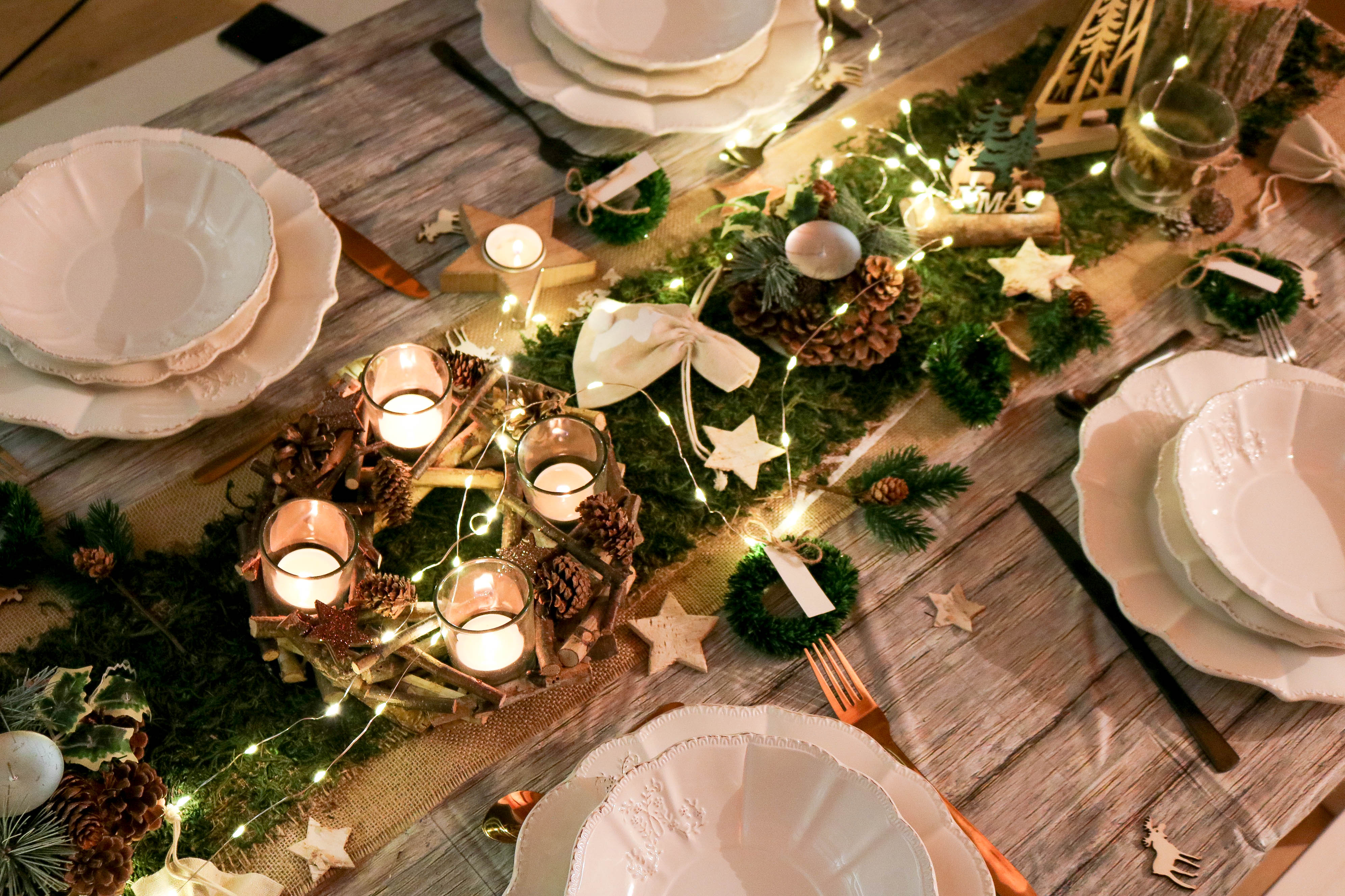 Table de Noël avec Vegaooparty \u0026 nos menus de fêtes
