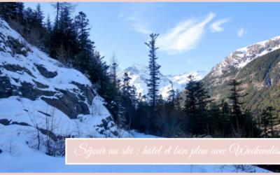 Séjour au ski : hôtel et bon plan avec Weekendesk