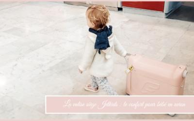 La valise siège jetkids : le confort pour bébé en avion