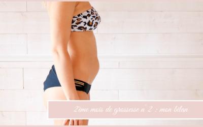 2ème mois de grossesse n°2 : mon bilan